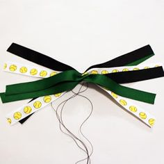 It's {always} All About Ribbon: Project: Quicky Ponytail Streamers