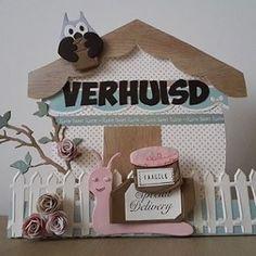 Verhuiskaart http://chantalcrea.blogspot.nl/2014/11/verhuiskaart.html #mariannedesign #elinepellinkhof #diecutting #card #cardmaking #papercraft #kaart #kaartenmaken #kaarten #handgemaakt #handmade #handmadewithlove #diy #handmade #craft #handmadecards #cute #lief #funny #grappig #schattig #verhuizen #verhuiskaart