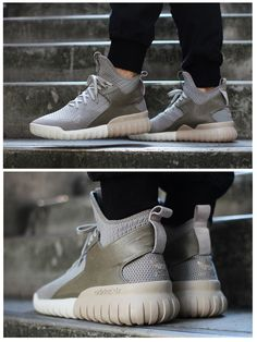 Cheap Adidas tubular radial beige