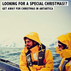 Dreaming of a special Christmas!? Get away for a Christmas in Antartica. Read about the experiences Jorge and Anabela had on http://www.rosportlife.com