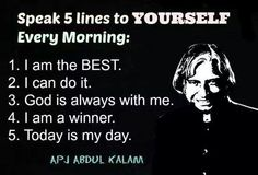 APJ Abdul Kalam - Versatile personality. His life shows path to many aspirants who wish to achieve higher Goals.