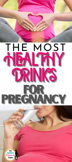 This list of healthy pregnancy drinks is exactly what you need to be drinking to have a healthy pregnancy. You need a lot of water while pregnant, but when too much water gets old try these healthy drinks for while you're pregnant. What you drink while pregnant is an important part of your pregnancy diet. Enhance your pregnancy nutrition with healthy prenatal drinks. #healthypregnancy #pregnancydrinks #pregnancydiet #pregnancynutrition Pregnancy In Hindi, Pregnancy Labor, Second Pregnancy, Pregnancy Workout, Pregnant Drinks, Pregnant Diet, Healthy Pregnancy Tips, Pregnancy Nutrition, Prenatal Workout