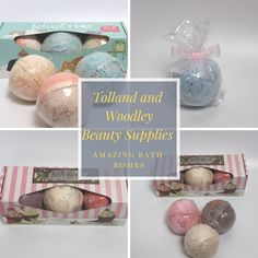 Check out our great bath bombs and don't miss out on 20% off all weekend!