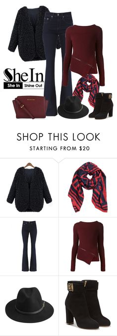 """SheIn.com - Contest!"" by asia-12 ❤ liked on Polyvore featuring Belstaff, BeckSöndergaard and Salvatore Ferragamo"