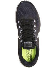 Nike Women s Air Zoom Pegasus 34 Running Sneakers from Finish Line - Black  7.5 Nike Air fd69db67cc9