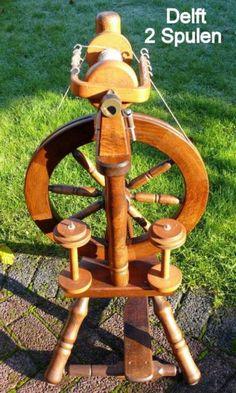 Spinnrad DELFT 2 Spulen WOLLE Spinnen spinnfähig LESEN Fotos in Nordrhein-Westfalen - Hamm | Basteln, Handarbeiten und Kunsthandwerk | eBay Kleinanzeigen