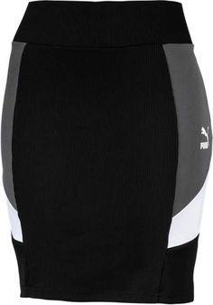 PUMA Retro Classic Tight Skirt - Womens - Puma Black Athletic Skirts, Athletics, Tights, Retro, Classic, Fitness, Black, Women, Fashion