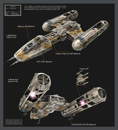 Y-Wing starfighter/bomber, by Pat Presley. Concept design for the Star Wars Rebels TV show. This version should fill the gap between the Clone Wars era BTL-B Y Wing and the Original Trilogy design. Star Wars Fan Art, Star Wars Concept Art, Star Wars Rpg, Star Wars Ships, Star Wars Rebels, Star Trek, V Wings, Star Wars Spaceships, Star Wars The Old