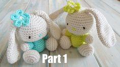 Pt1: How To Crochet an Amigurumi Rabbit - Yarn Scrap Friday