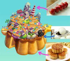 Maps in Cookie JAM: Sweet floating islands | Junxue Li | LinkedIn