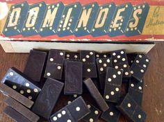 A personal favorite from my Etsy shop https://www.etsy.com/listing/530046349/old-wooden-dominoes-by-halsam