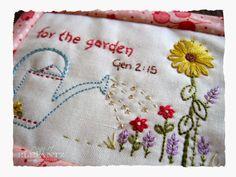 Jenny of ELEFANTZ: GIVE THANKS - 12 mini quilts!