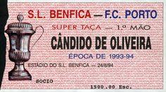 Benfica - FC Porto #Benfica #Ticket