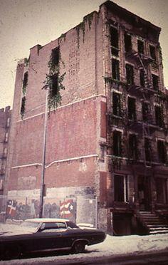 Charles Simonds - Tenement Museum 1976