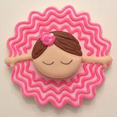 Little Ballerina Another cookie inspired by @SweetSugarBelle {Callye Alvarado}…