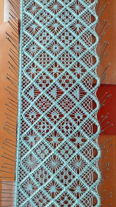 ENCAJERAS DE BOLILLOS DE BENALMÁDENA - 2 Tunisian Crochet Patterns, Bobbin Lace Patterns, Weaving Patterns, Crochet Motif, Bobbin Lacemaking, Point Lace, Lace Scarf, Tatting Lace, Lace Border