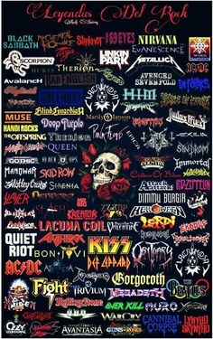 44 ideas music rock wallpaper heavy metal music wallpaper nora di leo on noradileo rock rock music rock and roll aesthetic vintage text baby doll mtv Heavy Metal Shirts, Heavy Metal Rock, Heavy Metal Bands, Music Rock, Heavy Metal Music, Music Music, Pop Rock, Rock And Roll, Rockband Logos