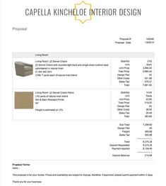 Capella Kincheloe Interior Design