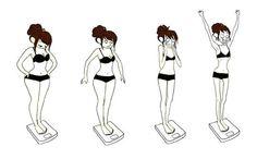 Как худеют девушки