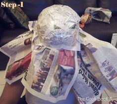 Usefull tips how to make a mexican sombrero. Can be used also for guerilla marketing ;)