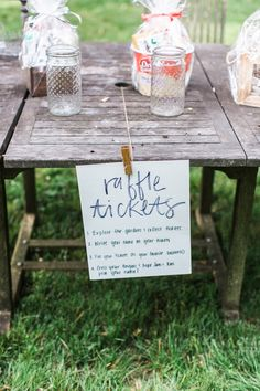Low-Key Bridal Shower Game: Hide raffle tickets around your shower venue and let guests enter to win gift baskets as they find them. More from this Peony Perfection Bohemian Bridal Shower | Ultimate Bridesmaid | Chelo Keys Photography
