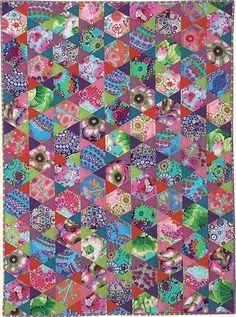 SHERBET from Kaffe Fassett Quilts en Provence