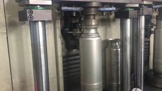 neck necking machine in ss vacuum flask production line