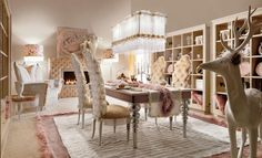 Wild dining room thi