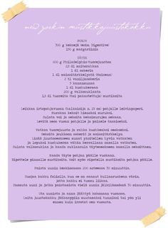 Vaaleanpunainen hirsitalo - Page 2 of 912 - Sweet Bakery, Piece Of Cakes, Cheesecake, Good Food, Food And Drink, Recipe Cards, Drinks, Desserts, York
