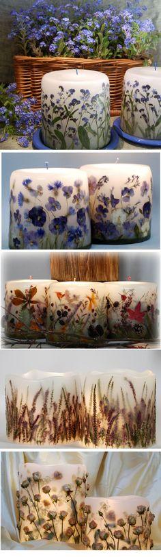Завораживающие миры Aneta Szuniewicz, или Искусство создания парафиновых свечей - ЯМ
