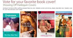 Readers vote for your favorite Harlequin book cover today and discover great love stories