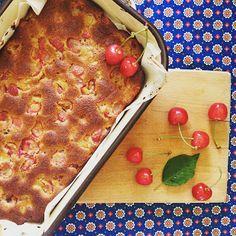 Én kicsi paleo konyhám: Cseresznyés süti