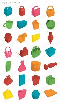 Cricut® Tags, Bags, Boxes & More® 2 cartridge - Cricut Shop