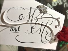 """"""" Wedding Card ~ with Quilled flowers and Handwritten fonts Personalized Cards, Handwritten Fonts, Wedding Cards, Flowers, Wedding Ecards, Personalised Cards, Royal Icing Flowers, Flower, Florals"""