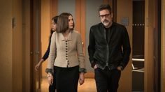 THE GOOF WIFE - Julianna Margulies as Alicia Florrick and Jeffrey Dean Morgan as Jason Crouse