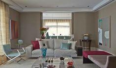 Está aí um super exemplo de como criar um #ambiente sóbrio e elegante com #cores quentes. #home #decor