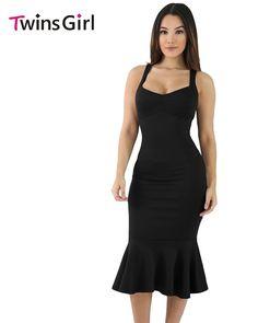 2017 Summer New Fashion Women Plus Size Clothing Knee-Length Party Dre - Alfs Fashion
