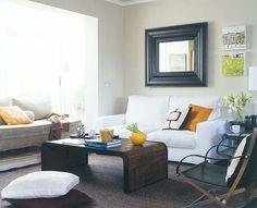 Un piso luminoso y diáfano dividido en dos viviendas