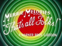 Let's go to the movies - That's all Folks! Old Cartoons, Classic Cartoons, My Childhood Memories, Sweet Memories, Childhood Games, Alter Ego, Thats All Folks, Photo Vintage, Saturday Morning Cartoons