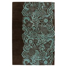 Chandra Rugs ASC6400 Aschera Area Rug, Blue at ATG Stores