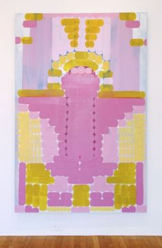 Lily Stockman, Electric Lady oil on Indian linen 48 x 72 inches 2013 Art Inspiration, Artwork, Illustration Art, Prints, Art, Abstract, Pink Art, Painting, Art Design
