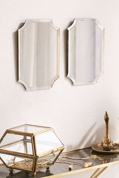Deco Slate Tinted Mirror - Urban Outfitters