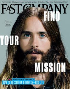 "Jared Leto - ""We all want to say yes because with yes comes so much opportunity, but with the power of No comes focus and engagement""."