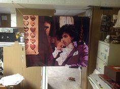2 Huge! PRINCE &. ROCKY Vinyl Banner POSTERS  music artist revolution purple rain album dvd minnesota 1999 cd