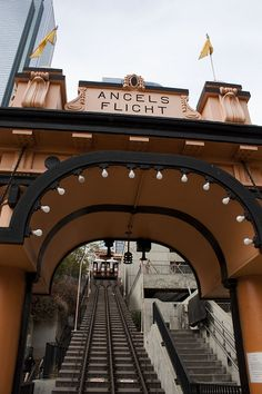 Angels Flight - Downtown LA City Guide for the Family