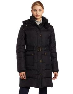 Tommy Hilfiger Womens Belted Down Jacket $139.30