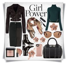 """""""What's Your Power Look?"""" by imbeauty ❤ liked on Polyvore featuring Oris, Haider Ackermann, Alexander Wang, Marni, Dorateymur, Allurez, LuMee, Bobbi Brown Cosmetics, Burberry and MyPowerLook"""