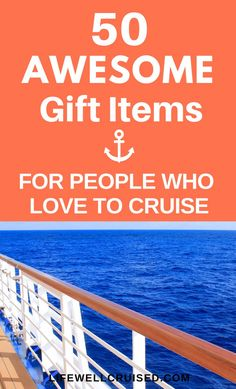 Know someone who loves to cruise? This gift list for cruisers has more than 50 gift ideas that cruise travelers will love! From useful cruise essentials and travel accessories, to fun and unique… Packing List For Cruise, Cruise Tips, Cruise Travel, Cruise Vacation, Cruise Ship Reviews, Best Cruise Ships, Cruise Excursions, Cruise Destinations, Family Friendly Cruises