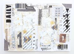 ** Chic Tags- delightful paper tags **: art journal inspiration (plus video)