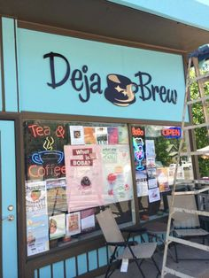 Deja Brew is a family-run coffee house serving all your favorite coffee and tea drinks.